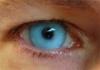 Голубые линзы